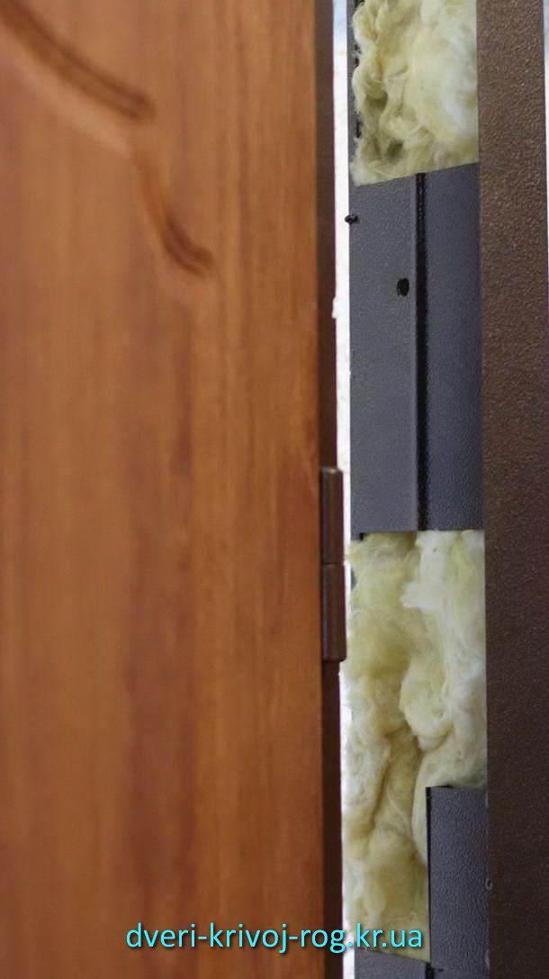 тёплая лудка входной двери Премиум