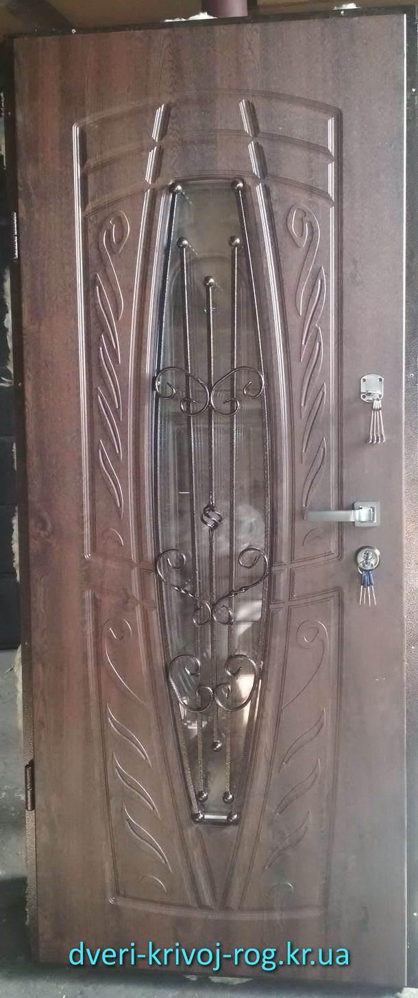 Красивая входная дверь Премиум из Кривого Рога