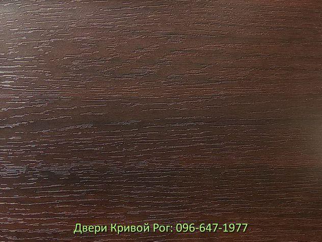 двери входные металлические кривой рог с накладкой Орех Тёмный