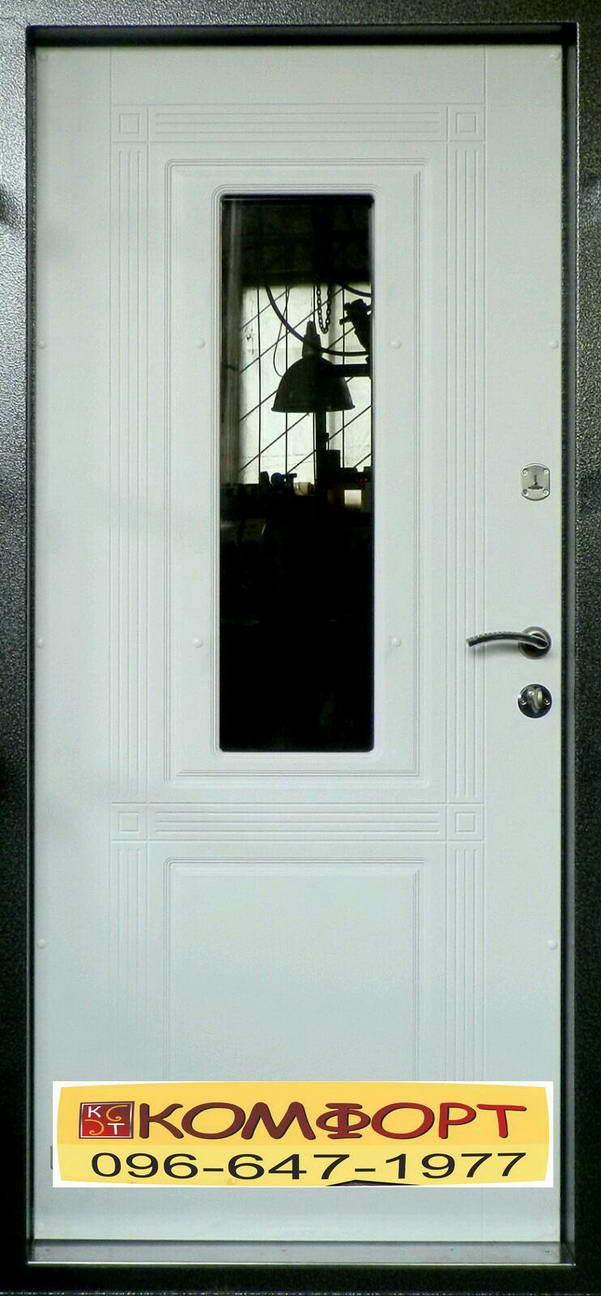 Купить входную дверь со стеклом в Кривом Рогу