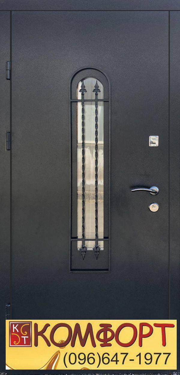 входные двери ковка