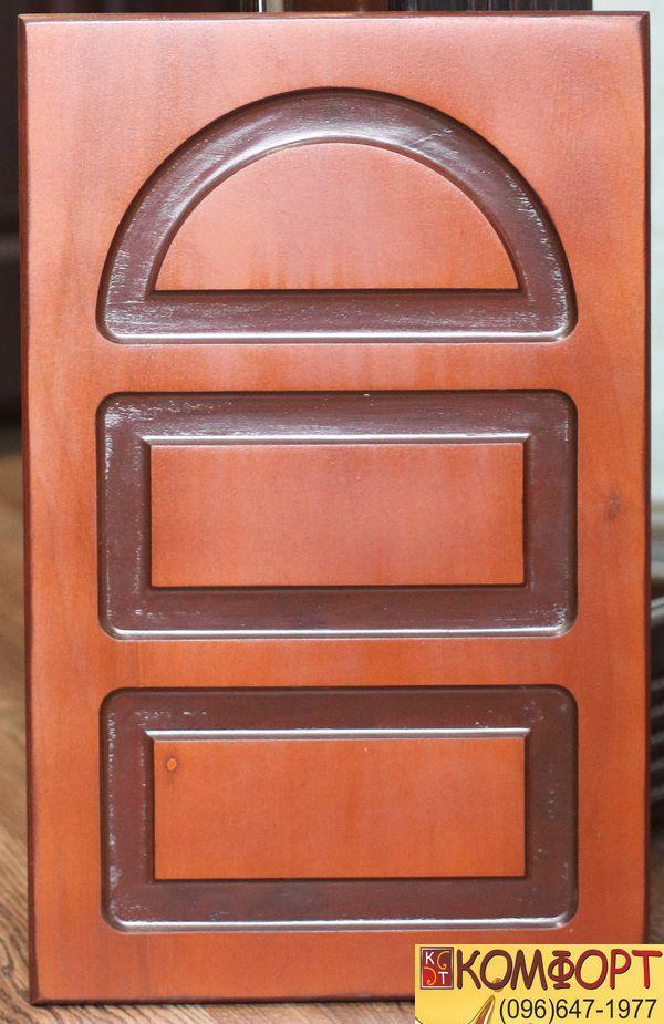 Декоративная накладка на входную дверь из фанеры