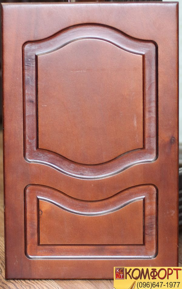 Накладка на двери из фанеры