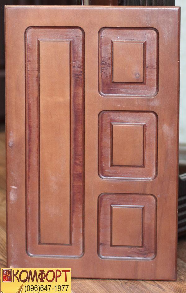 Фанерная накладка на входную уличную дверь